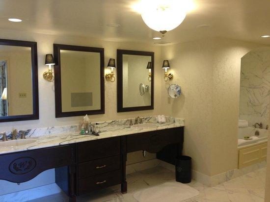 Willard InterContinental Washington : Baño Suite Washington