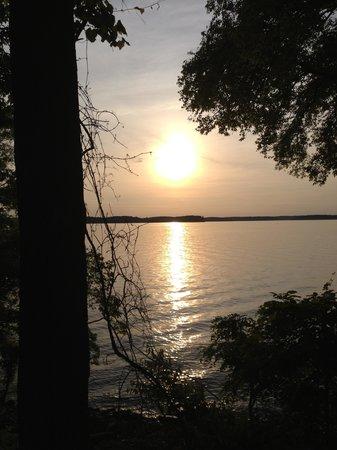 Kentucky Lakes / Prizer Point KOA: Our sunset view!