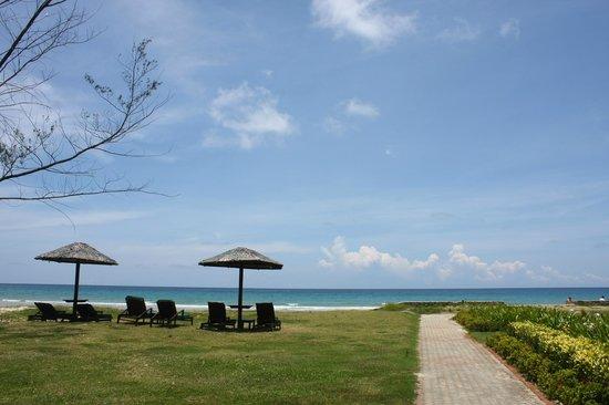 Nexus Resort & Spa Karambunai : 主區沙灘