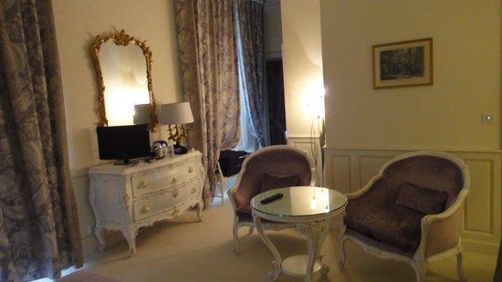 Chateau de Rochecotte: Our Room