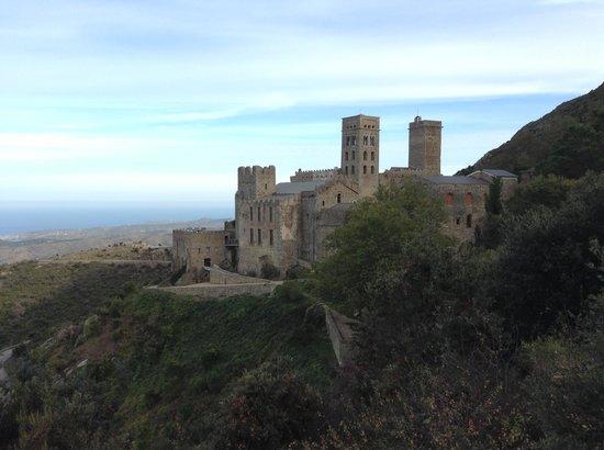 Monastery Sant Pere de Rodes : Vue
