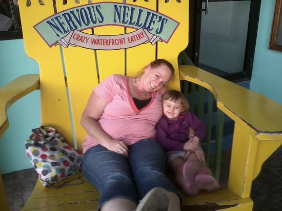 Nervous Nellie's Ft Myers Beach: in the big chair