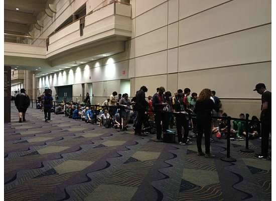 Orange County Convention Center: More lines