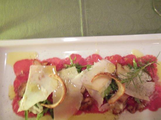 Restaurant Trautmannsdorf: Carpaccio
