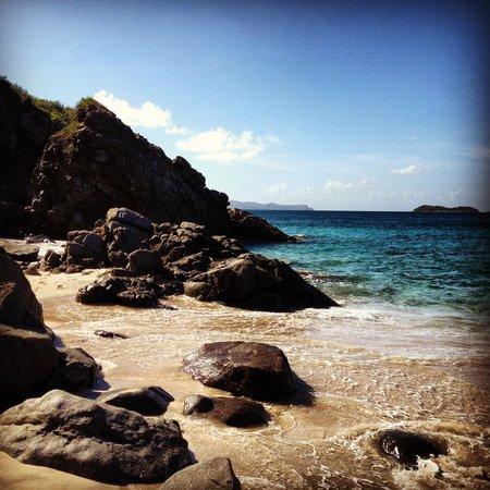 Rosewood Little Dix Bay: Private Spa Beach