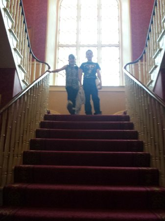 Abbey Hotel: lovely stairs