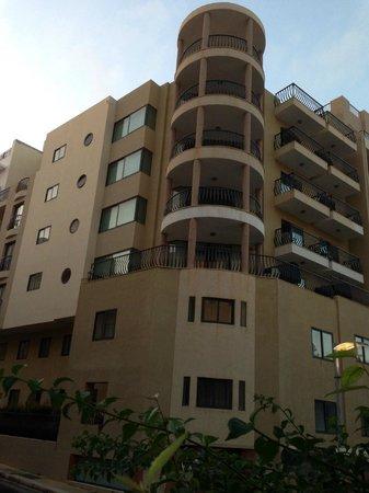 Alexandra Hotel Malta: facade