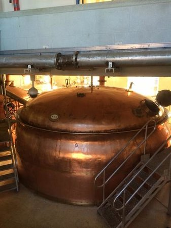 Greene King Brewery: Copper VAT
