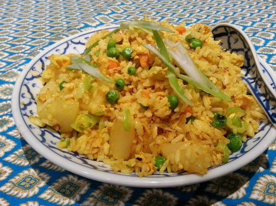 Benjawan Thai Cuisine: Pineapple fried rice