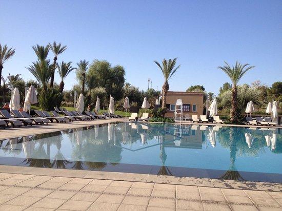 Pullman Marrakech Palmeraie Resort and Spa: Piscine