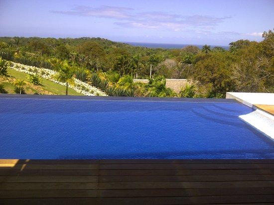 Villas Agua Dulce : Superbe vue de la terrasse