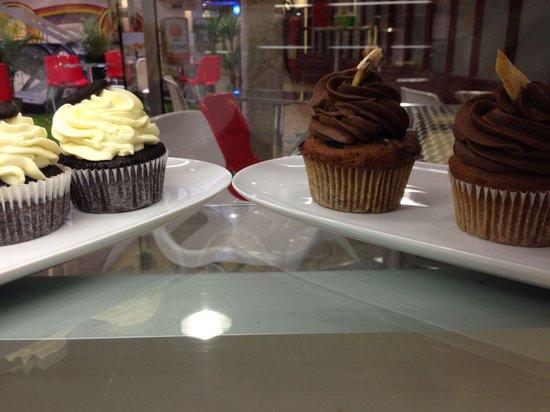 Bagels Square : Cupcake oreo et banane
