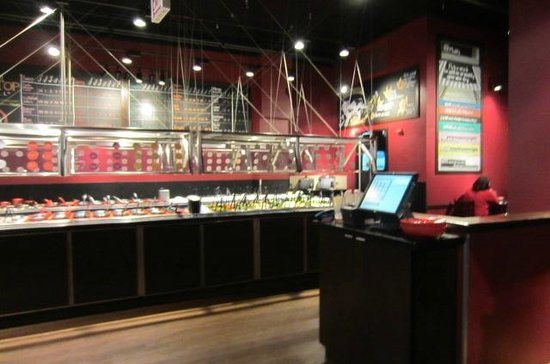 Buffet picture of flat top grill chicago tripadvisor for Buffet chicago but