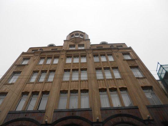 Moreno Hotel Buenos Aires : vista dalla strada