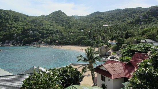 Family Tanote Bay Resort : Aussicht vom Zimmer