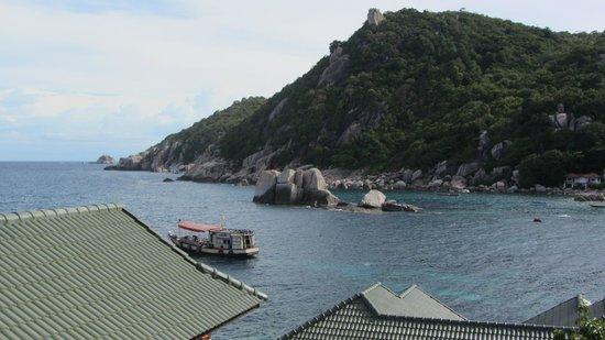 Family Tanote Bay Resort: Aussicht vom Zimmer