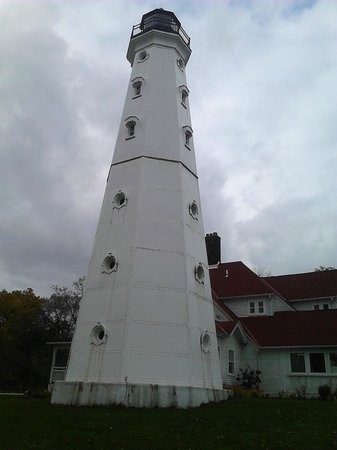 North Point Lighthouse : the tower