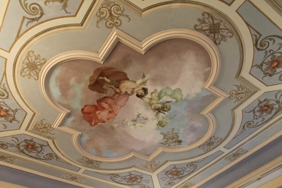 Hotel Villa Borghesi: Fresque