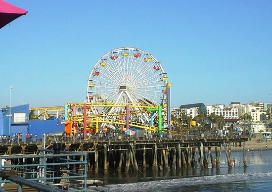 Santa Monica Pier: Ferris Wheel