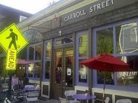 Carroll Street Cafe: Outside dining