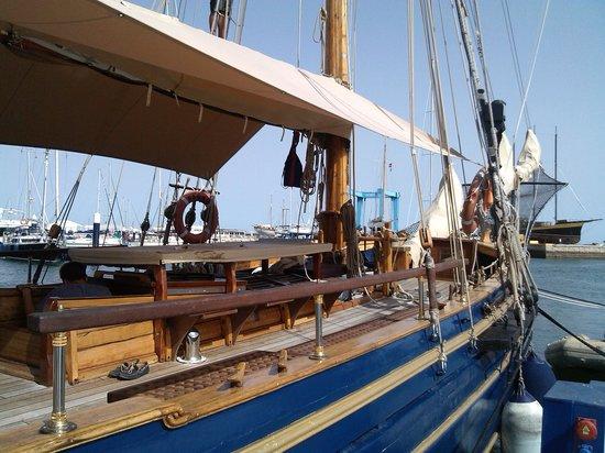 Hotel Puerto Sherry: Barco del siglo XVIII