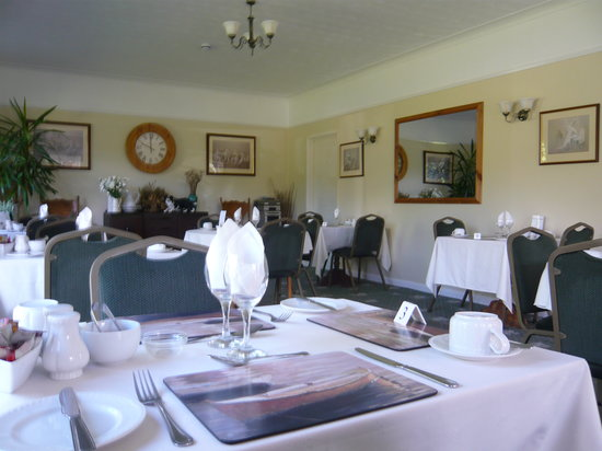 The Croft Guest House: Breakfast Dining Room