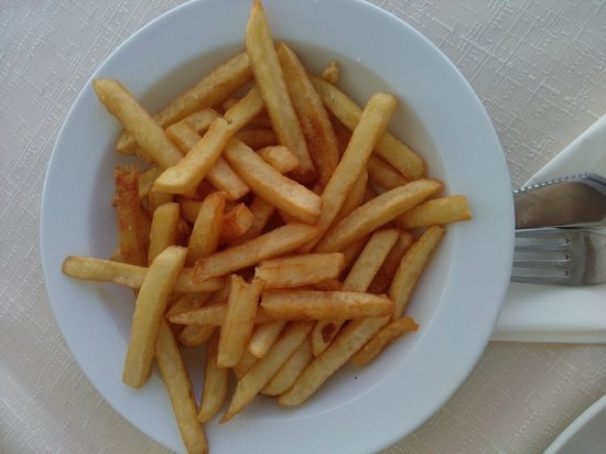 Pizzeria Minutka: terribili patatine fritte