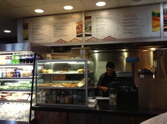 Skybridge Restaurant & Bar : Place your order here