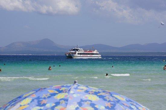 Hotel Roc Boccaccio: Море