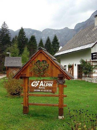 Alpik Apartments at Lake Bohinj: Front