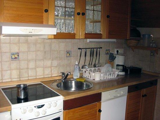 Alpik Apartments at Lake Bohinj : Well equipped kitchen