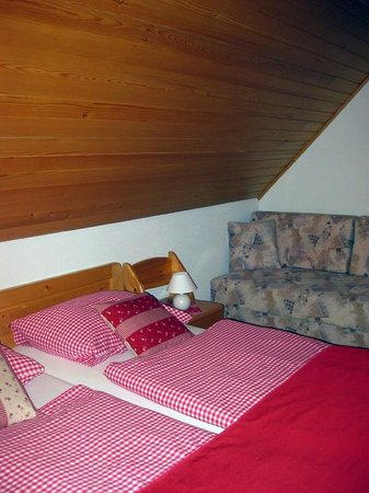 Alpik Apartments at Lake Bohinj : Big bedroom