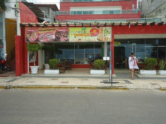 Tranquilo Bar e Restaurante: nossa entrada durante o dia que temos ambiente climatizado