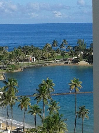 Caribe Hilton San Juan: View from our window