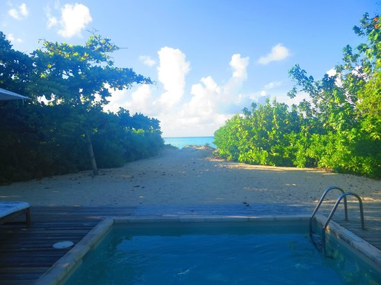 COMO Parrot Cay, Turks and Caicos: View from deck, 1 Br.Villa
