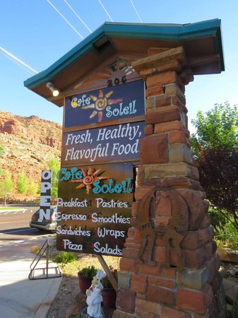 Cliffrose Lodge & Gardens: Cafe Soleil