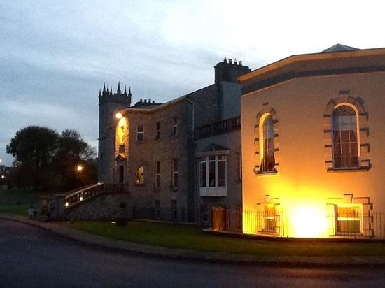 Glenlo Abbey Hotel: just before sunset
