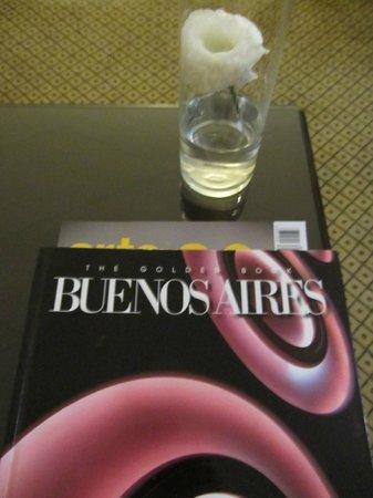 Sofitel Buenos Aires Arroyo : particolari della stanza