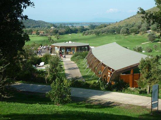 Argentario Golf Resort & Spa : LA BOUVETTE ED IL CAMPO PRATICA