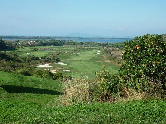 Argentario Golf Resort & Spa : VISTA SULLA BUCA 3