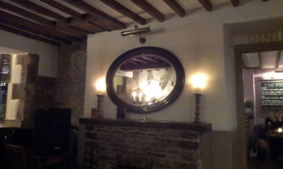 The Bell at Stow: warm, relaxed ambiance