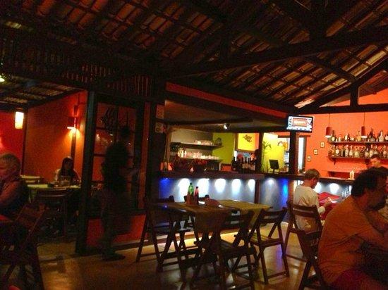 Imbassai Beach: Restaurante Guaya's