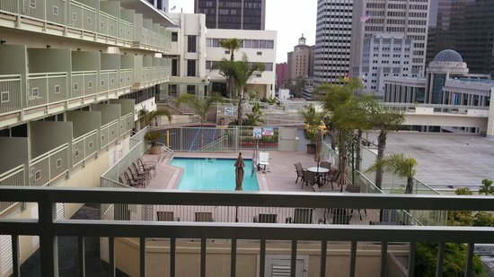 Holiday Inn Express San Diego Downtown: View from room :)