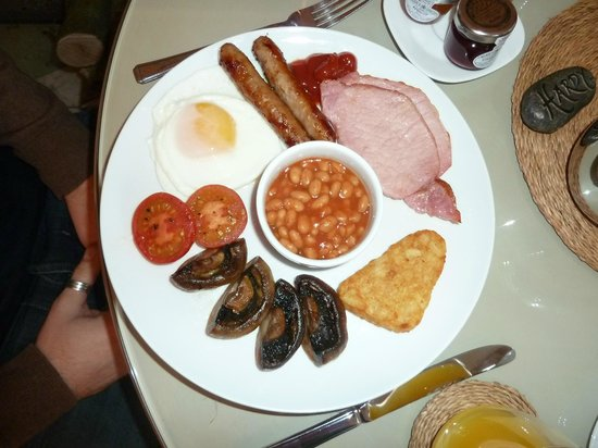 Bindon Bottom B&B: Breakfast