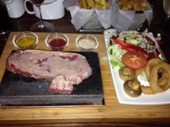Cattlemans Steakhouse: It's not raw, ready to cook to your own taste