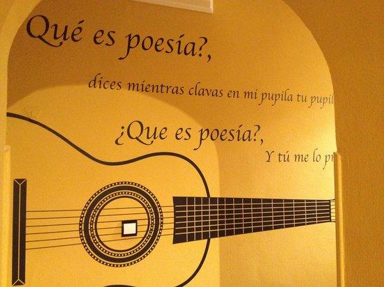 Hotel Sevilla : un des couloirs