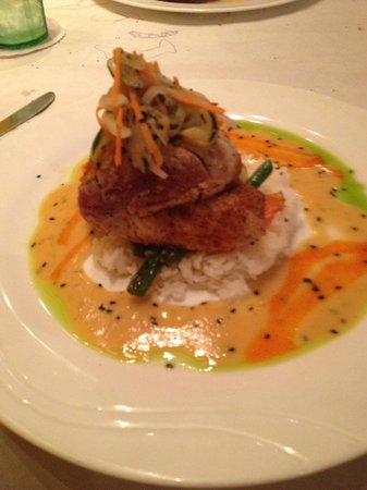 Jackie Rey's Ohana Grill : One of the fish specials