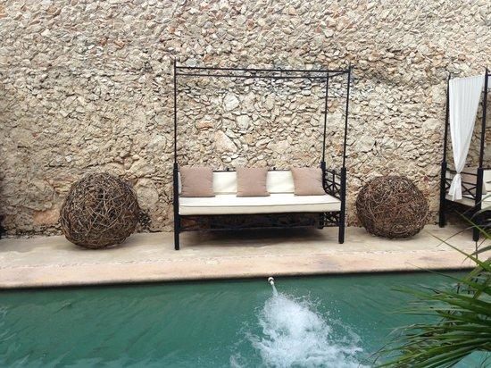 Hotel Hacienda Merida: lounge