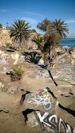 Path leading to the other end of sunken city