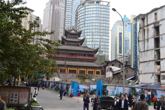 Chongqing Luohan Temple : Esterno
